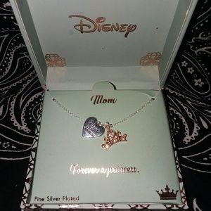 """Disney's """" Mom Forever A Princess"""" Necklace"""